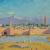 رسمها تشرشل.. أنجلينا جولي تعرض لوحة مسجد مغربي في مزاد ببريطانيا